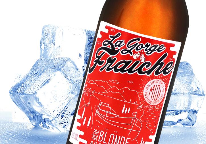 Bière blonde artisanale Sud de France