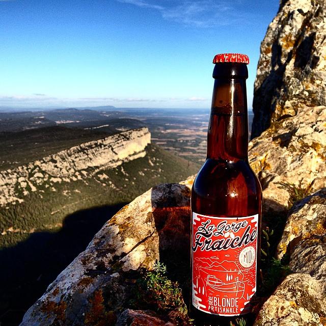 La bière du Midi La Gorge Fraîche a franchi le Pic Saint Loup, dans les hauteurs de Montpellier