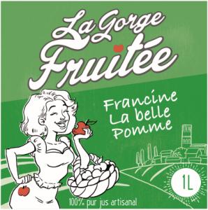 jus et nectars de fruits artisanaux Francine la belle pomme