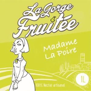 jus et nectars de fruits artisanaux Madame La Poire