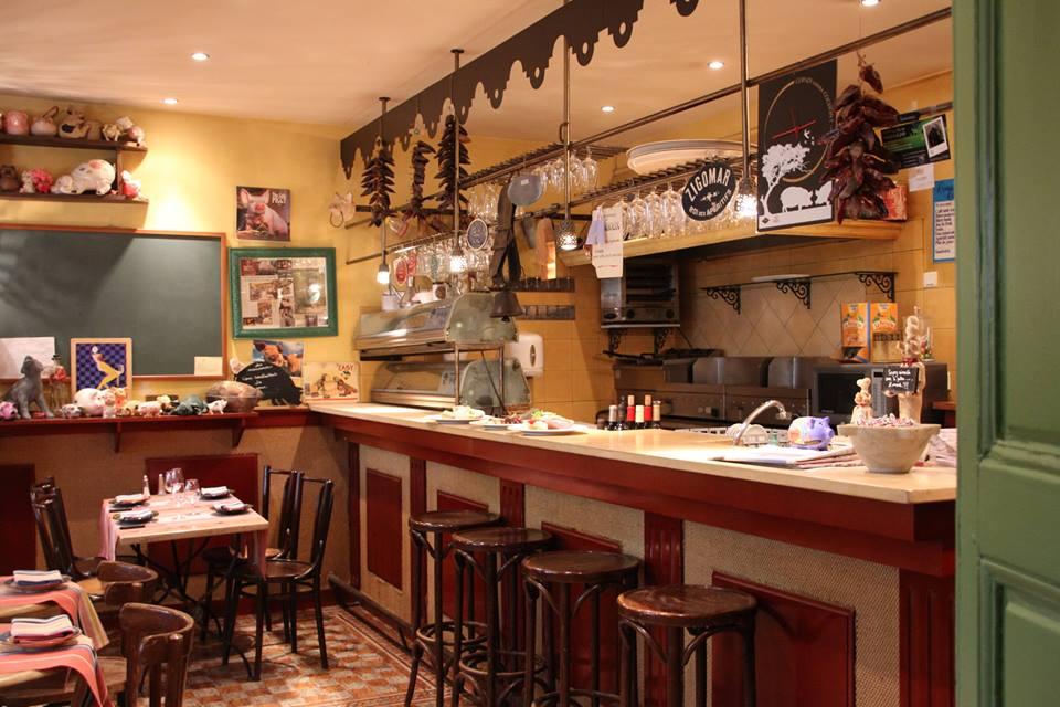 Restaurant p zenas les marronniers la gorge fra che for Restaurant a pezenas