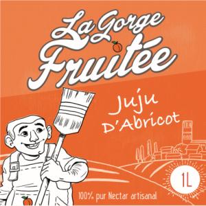 jus et nectars de fruits artisanaux JUJU d'Abricot