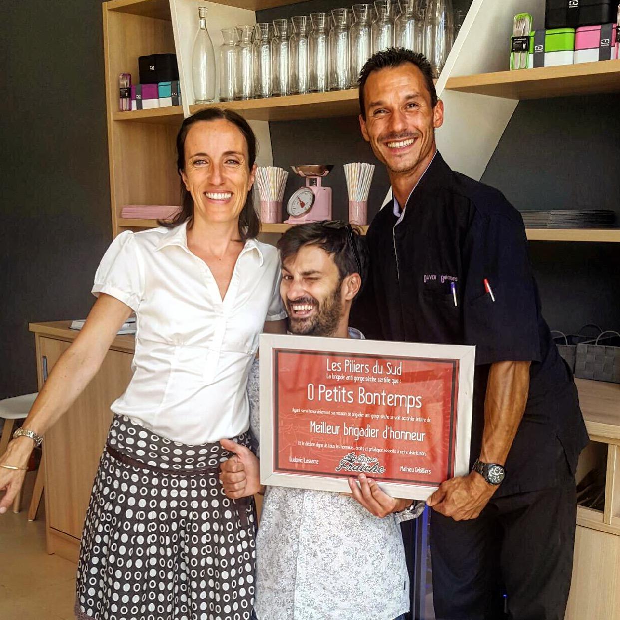 O Petits Bontemps, nouvelle brasserie à Béziers, est partenaire de la bière artisanale La Gorge Fraîc