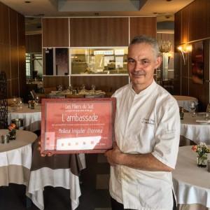circuit gastronomique Béziers meilleurs restaurant l'ambassade patricl olry