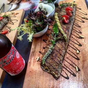 biere artisanale la gorge fraiche brasserie pezenas sud de france hérault occitanie julie art o ju ex auube