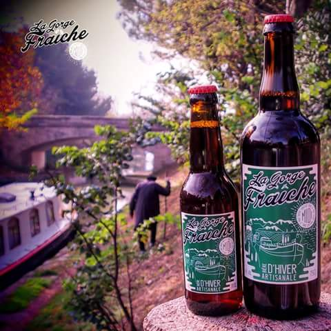 biere gorge fraiche artisanale bière hiver biere noel Noël hérault occitanie midi brasserie gastronomie