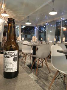 notre bière artisanale à Vendres: restaurant l'Embuscade