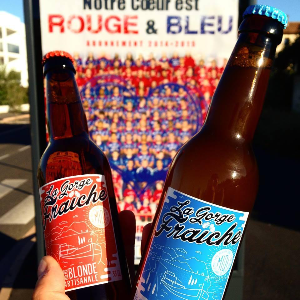 retrouvez nos bières à la brasserie à béziers Côté Vestiaires