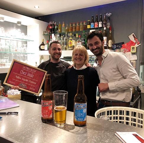 découverte de cet excellent restaurant grillardin à Valras-Plage