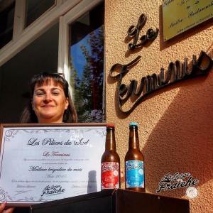 LE TERMINUS - CLERMONT-L'HERAULT - Sophie et Jean-Marie © La Gorge Fraîche, bière artisanale Sud de France et Occitanie