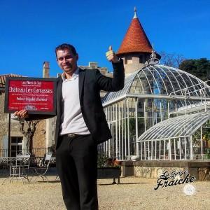 meilleurs restaurant à Béziers quarante capestang chateau les-carasses