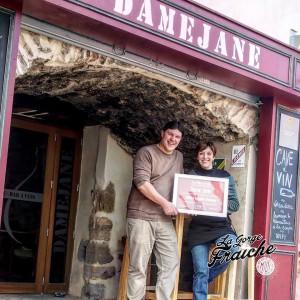 DAMEJANE - FAUGERES - Guillaume et Sylvia © La Gorge Fraîche, bière artisanale Sud de France et Occitanie